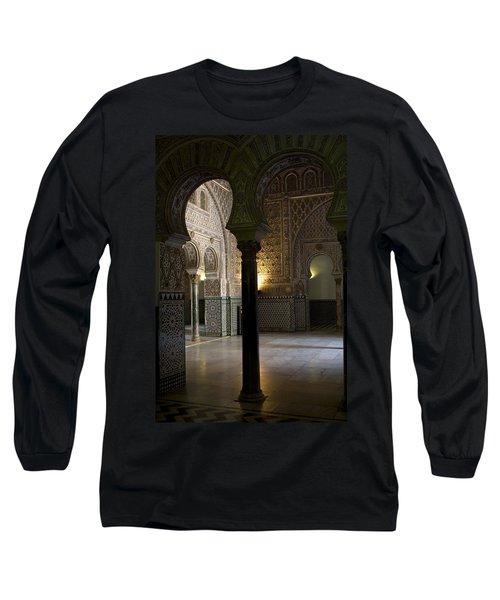 Inside The Alcazar Of Seville Long Sleeve T-Shirt