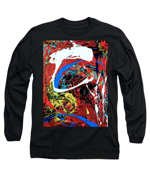 Inside The Big Fish Long Sleeve T-Shirt by Elf Evans