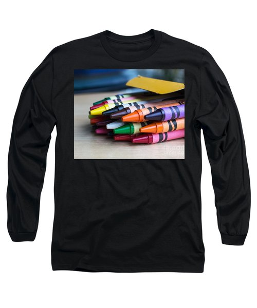 Inside The Box Two Long Sleeve T-Shirt by Arlene Carmel