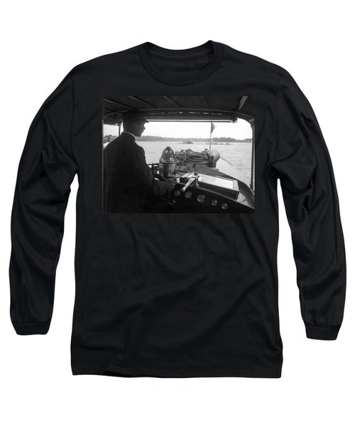 Inside The Cockpit Of A Launch Long Sleeve T-Shirt