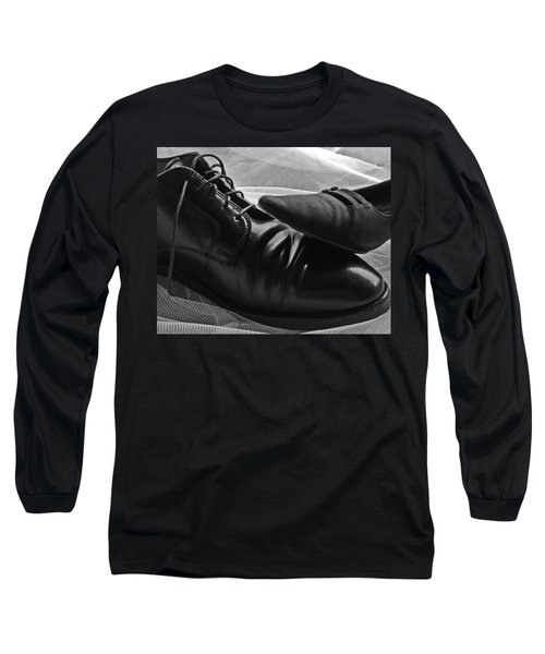 Long Sleeve T-Shirt featuring the photograph Instep by Lisa Phillips
