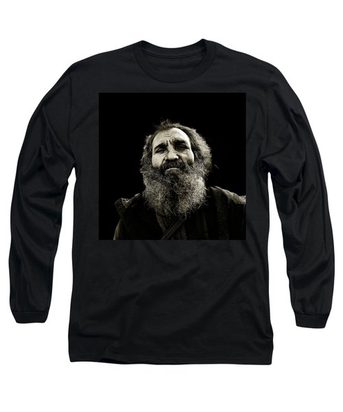 Intense Portrait Long Sleeve T-Shirt