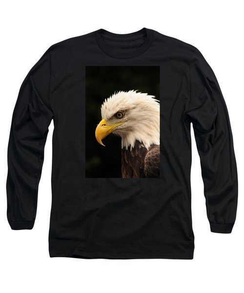 Long Sleeve T-Shirt featuring the photograph Intense Stare by Mike Martin