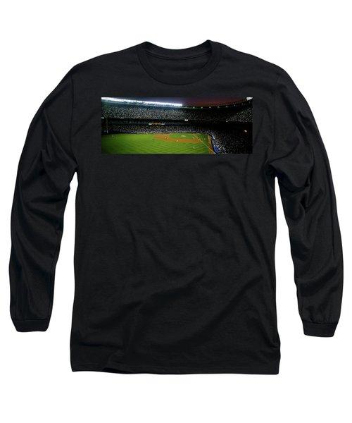 Interiors Of A Stadium, Yankee Stadium Long Sleeve T-Shirt