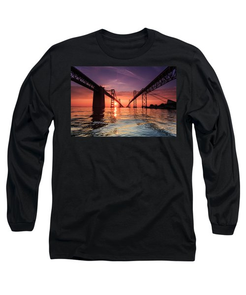 Into Sunrise - Bay Bridge Long Sleeve T-Shirt