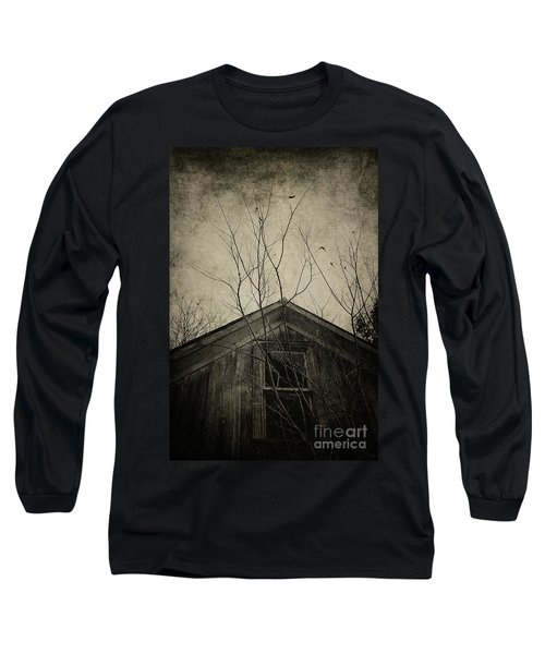 Into The Dark Past Long Sleeve T-Shirt by Trish Mistric