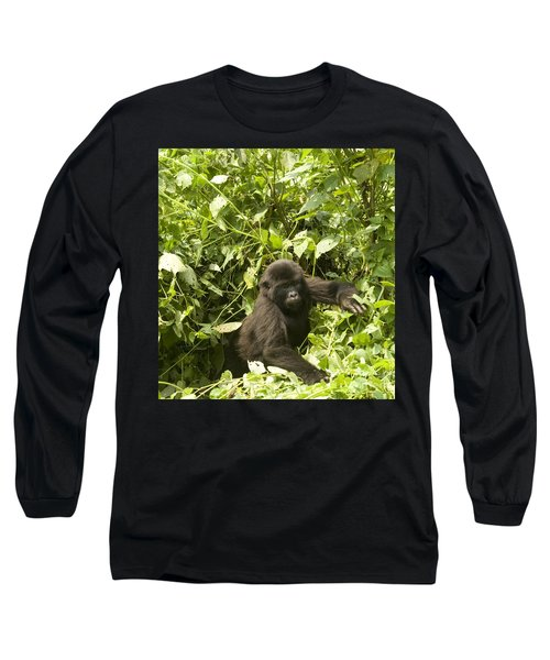 Long Sleeve T-Shirt featuring the photograph Into The Light by Liz Leyden