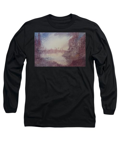 Into The Storm Long Sleeve T-Shirt by Richard Faulkner