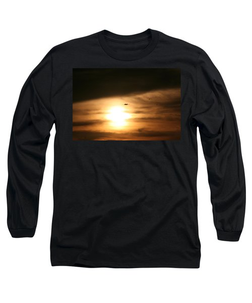 Long Sleeve T-Shirt featuring the photograph Into The Sun by David S Reynolds