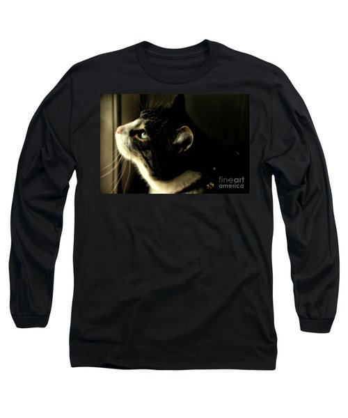Intrigued Long Sleeve T-Shirt by Shari Nees