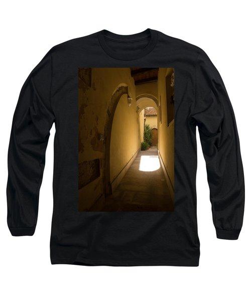 Long Sleeve T-Shirt featuring the photograph Invitation by Georgia Mizuleva