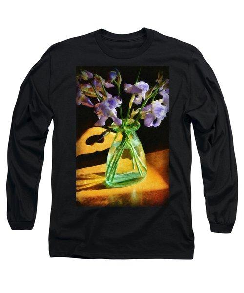 Irises In Morning Light Long Sleeve T-Shirt