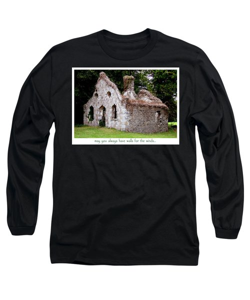 Irish Blessing Long Sleeve T-Shirt by Charlie and Norma Brock