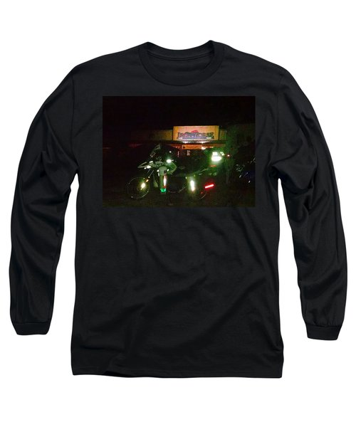 Iron Horse Lodge Evening Long Sleeve T-Shirt