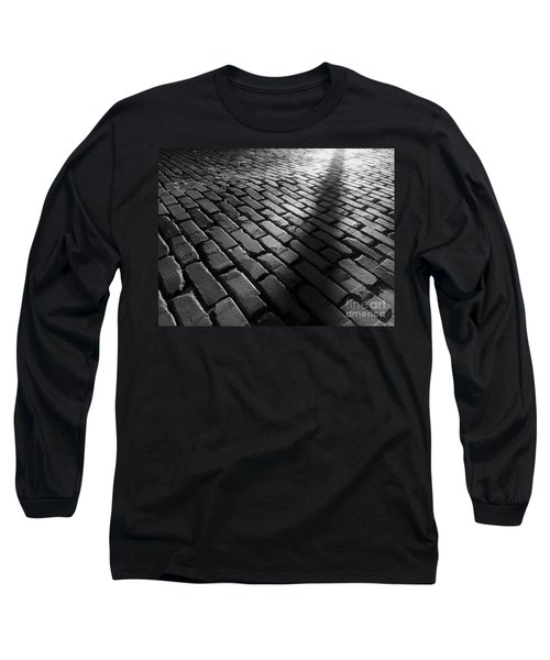 Is Someone There Long Sleeve T-Shirt by James Aiken