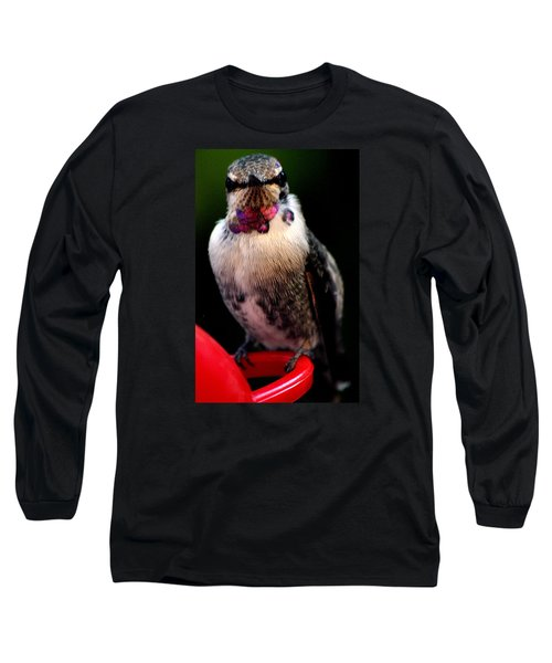 Long Sleeve T-Shirt featuring the photograph Is This Pose Alright With You  by Jay Milo