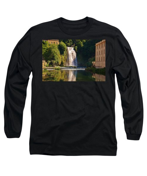 Isola Del Liri Falls Long Sleeve T-Shirt