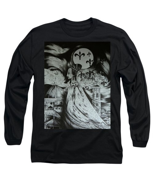 Italian Fantasies. Florence Long Sleeve T-Shirt