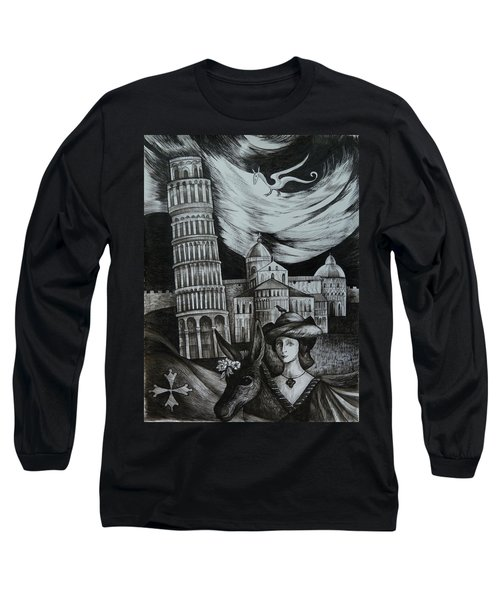 Italian Fantasies. Pisa Long Sleeve T-Shirt