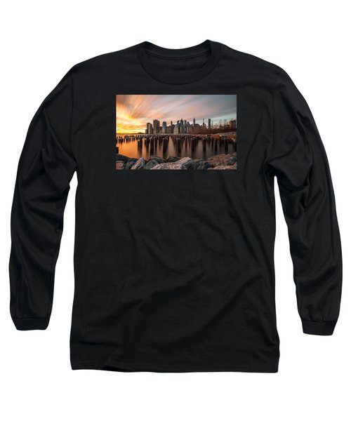 Long Sleeve T-Shirt featuring the photograph Its A New Year  by Anthony Fields