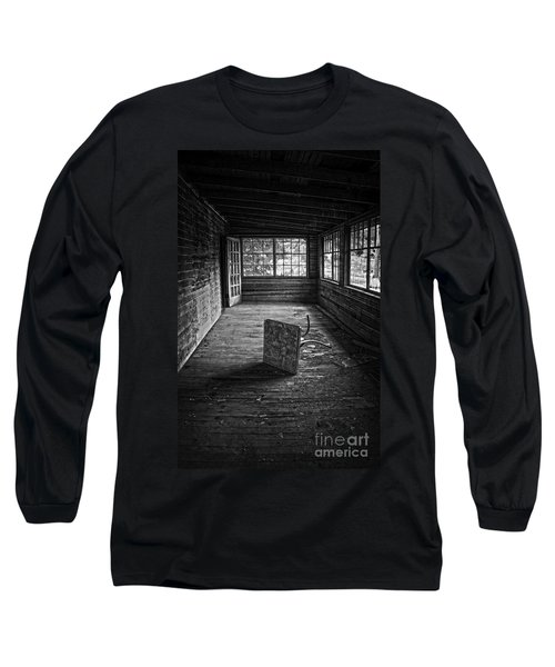 Long Sleeve T-Shirt featuring the photograph It's Empty Now by Debra Fedchin