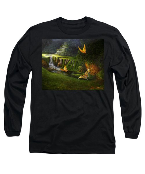 Gods Promise Long Sleeve T-Shirt by Loxi Sibley