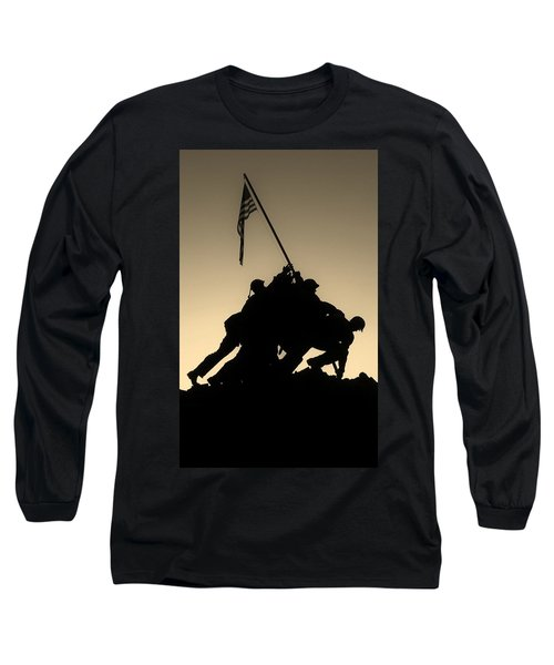 Iwo Long Sleeve T-Shirt by Robert Geary