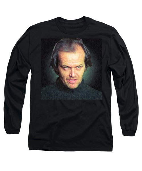 Jack Torrance Long Sleeve T-Shirt by Taylan Apukovska