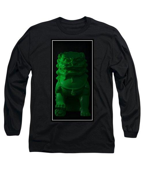 Long Sleeve T-Shirt featuring the digital art Jade... by Tim Fillingim