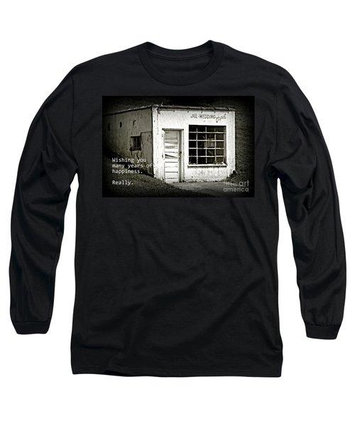 Jail And Wedding Chapel Long Sleeve T-Shirt