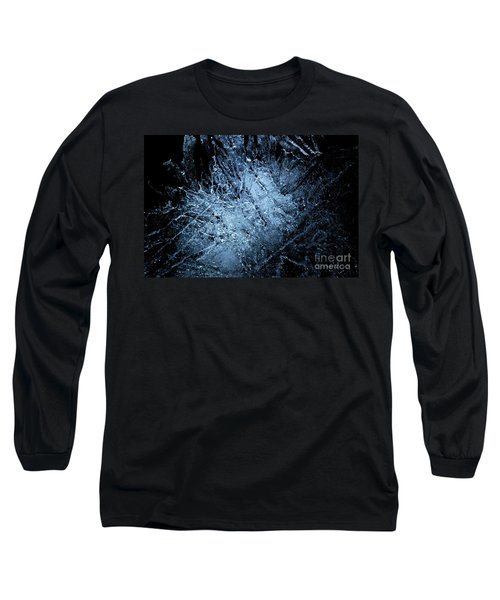 Long Sleeve T-Shirt featuring the photograph jammer Frozen Cosmos by First Star Art