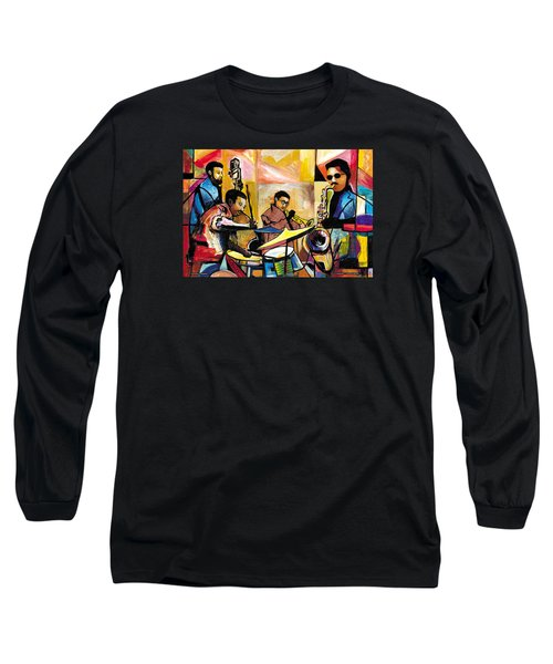 Jammin N Rhythm Long Sleeve T-Shirt