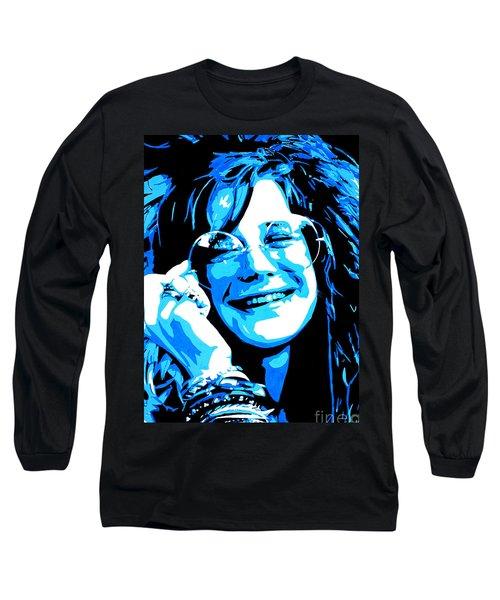 Janis Joplin. Long Sleeve T-Shirt
