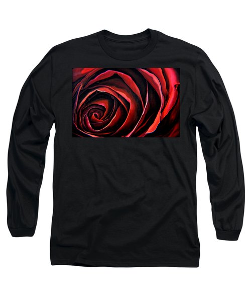 January Rose Long Sleeve T-Shirt