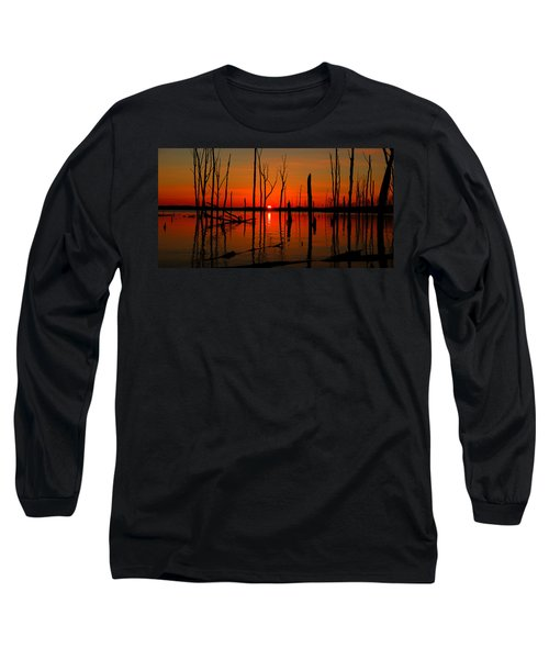 January Sunrise Long Sleeve T-Shirt