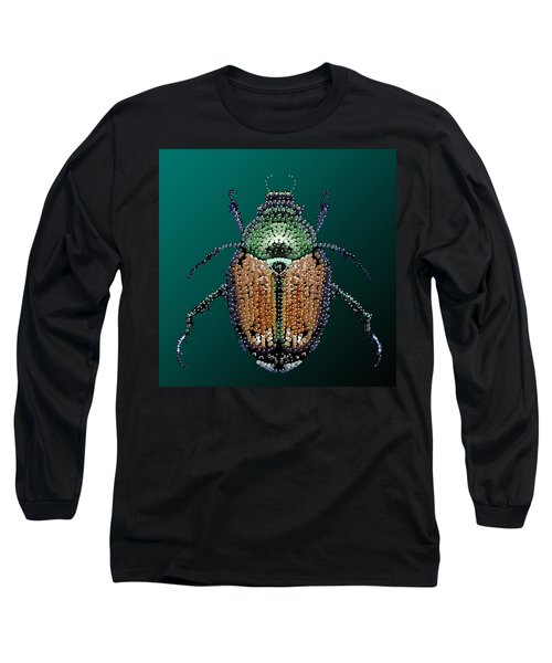 Japanese Beetle Bedazzled II Long Sleeve T-Shirt