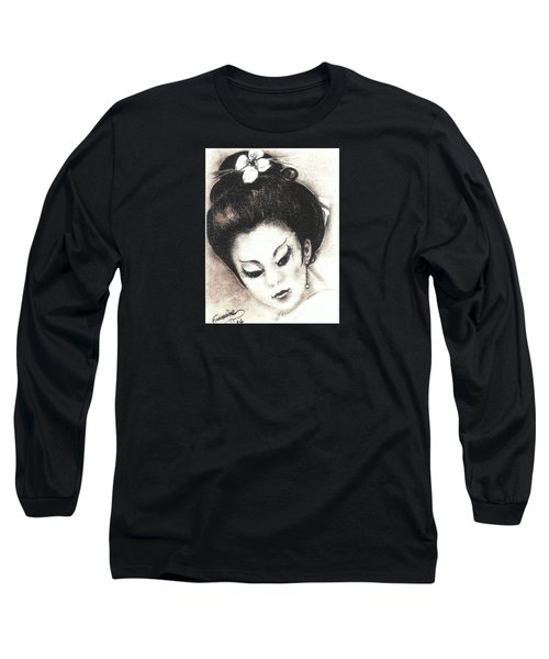 Japanese Girl. Long Sleeve T-Shirt