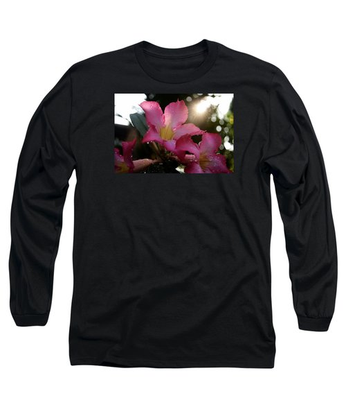 Long Sleeve T-Shirt featuring the photograph Jardin Du Matin by Miguel Winterpacht