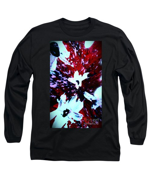 Long Sleeve T-Shirt featuring the painting Jasmine In My Mind  by Jacqueline McReynolds