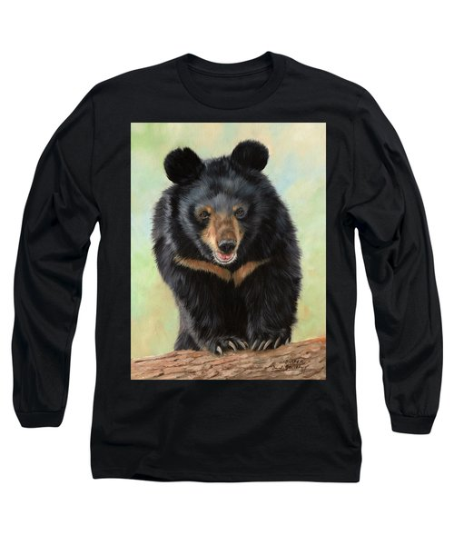 Jasper Moon Bear - In Support Of Animals Asia Long Sleeve T-Shirt