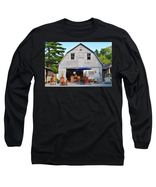 The Old Barn At Jaynes Reliable Antiques And Vintage Long Sleeve T-Shirt