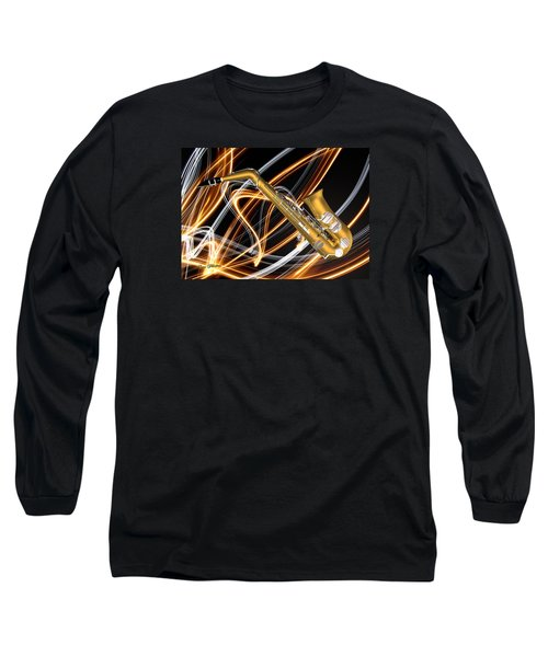 Jazz Saxaphone  Long Sleeve T-Shirt