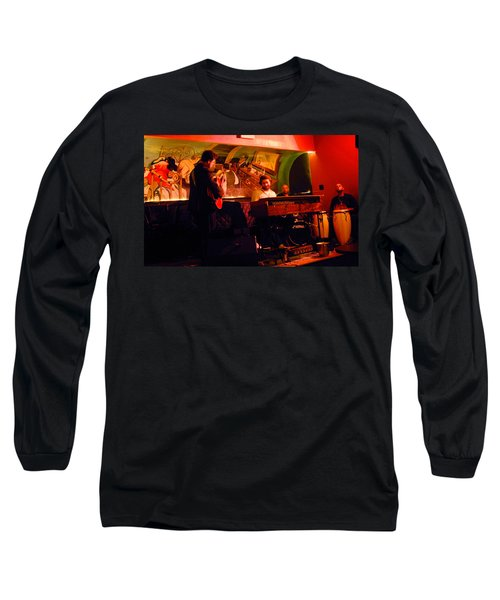 Jc Stylles At Mintons Playhouse Harlem Usa Long Sleeve T-Shirt
