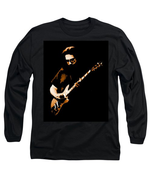 Jerry And His Guitar Long Sleeve T-Shirt