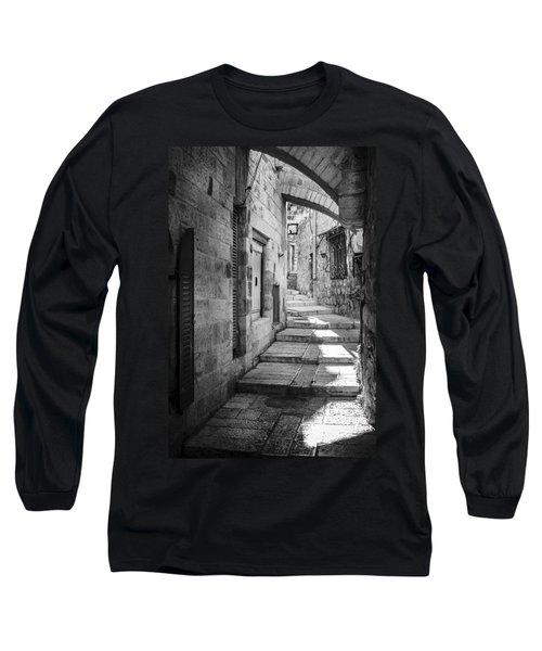 Jerusalem Street Long Sleeve T-Shirt