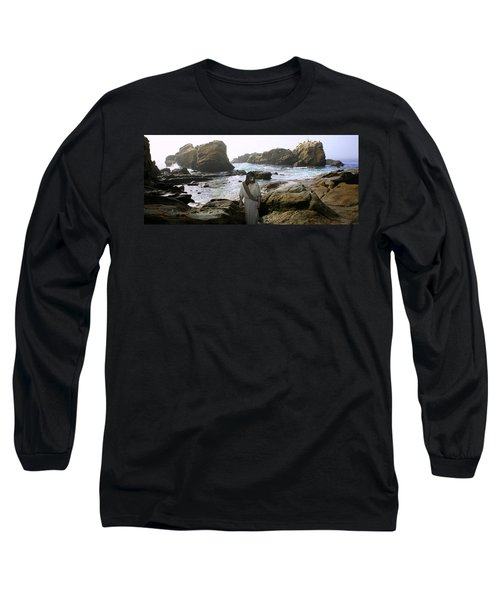 Jesus Christ- In The Company Of Angels Long Sleeve T-Shirt