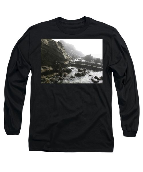 Jesus Christ- In The Presence Of Angels Long Sleeve T-Shirt