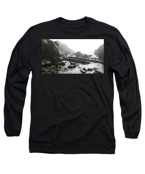 Jesus Christ- Walking Among Angel Mist Long Sleeve T-Shirt