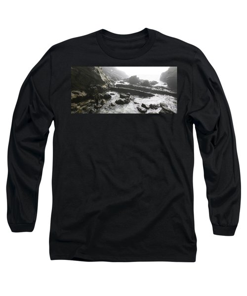 Jesus Christ- Walking With Angels Long Sleeve T-Shirt