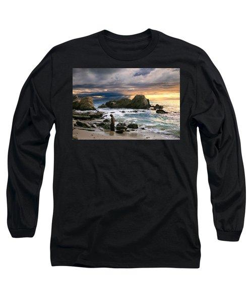 Jesus' Sunset Long Sleeve T-Shirt